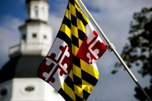 MD Flag for the State